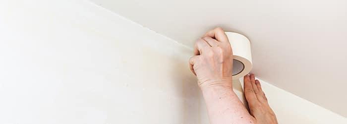 wat is het spuiten van je plafond